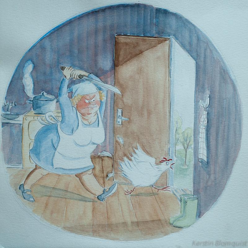 illustration På Tal om Uttal Kerstin Blomquist