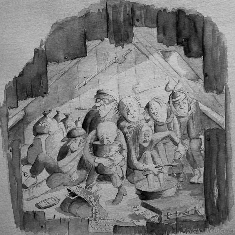 Kerstin Blomquist illustration På tal om Uttal