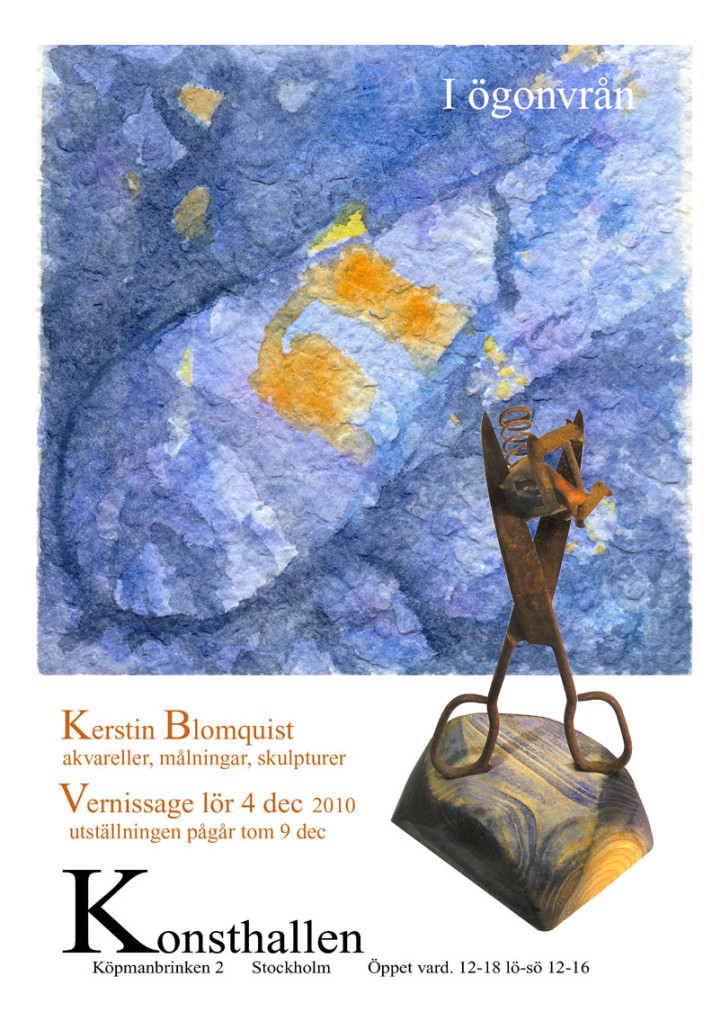 Kerstin Blomquist konstutställning 2013