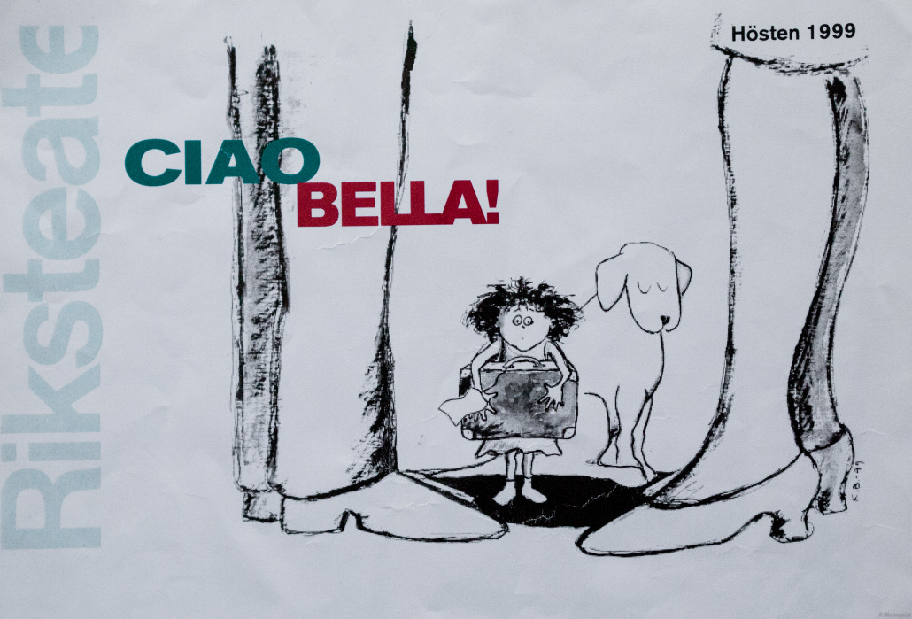 Kerstin Blomquist illustration Unga Riks
