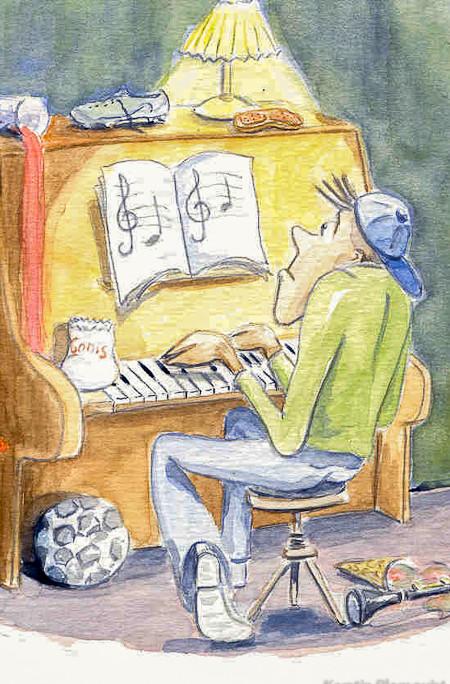 Kerstin Blomquist /illustration ur På Tal om Uttal