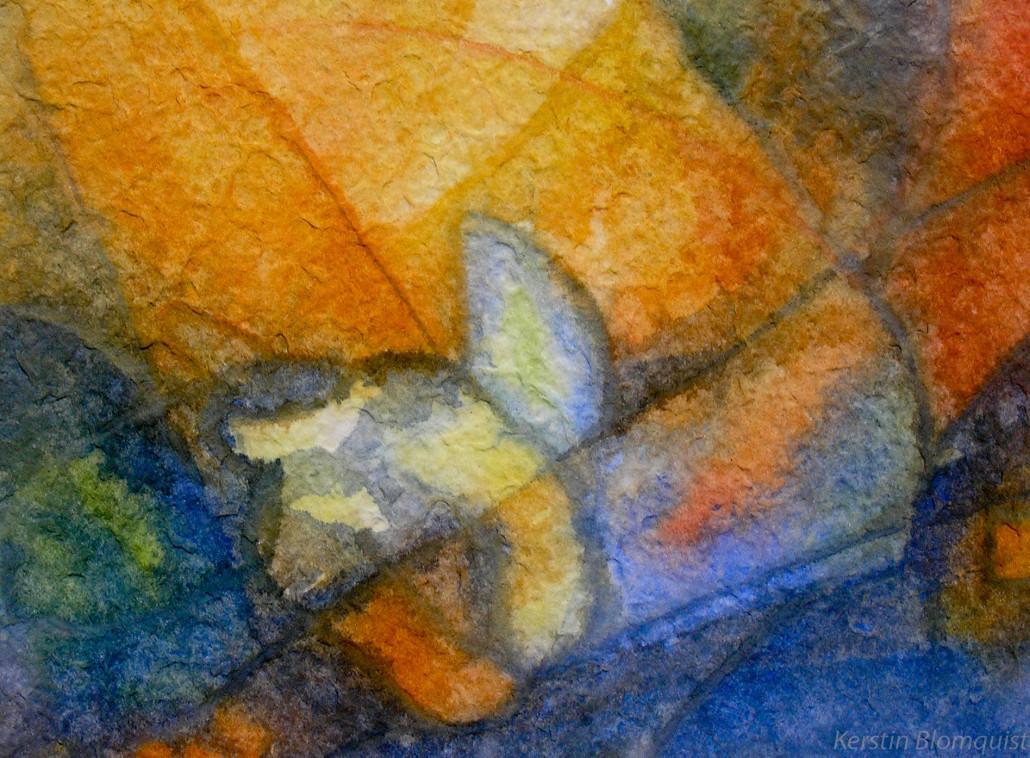 Kerstin Blomquist /arbetsglädje/ akvarell